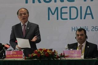 Chủ tịch Quốc hội Nguyễn Sinh Hùng:  Đại hội đồng IPU – 132 đã thành công tốt đẹp