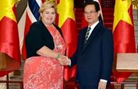 Chính phủ Na Uy mong muốn thúc đẩy quan hệ hợp tác với Việt Nam