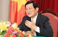 Chủ tịch nước Trương Tấn Sang sẽ dẫn đầu Đoàn đại biểu Việt Nam tham dự Hội nghị Cấp cao Á-Phi