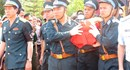 Hải Phòng: Nghẹn ngào lễ tiễn đưa di cốt liệt sĩ phi công Su-22 về đất mẹ