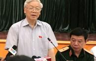 """Tổng Bí thư Nguyễn Phú Trọng: """"Bí thư kiêm chủ tịch thì to quá, ai kiểm soát ông?"""""""