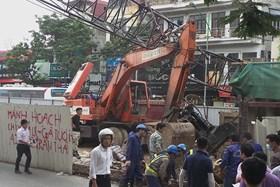 Từ 15.5: Dừng hoạt động công trình sử dụng cẩu tháp gây nguy hiểm