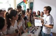 Giới trẻ hào hứng tham dự 'Ngày hội Tình nguyện toàn cầu 2015'