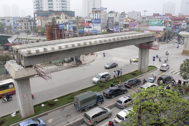 Tổng thầu đường sắt Cát Linh-Hà Đông đang là