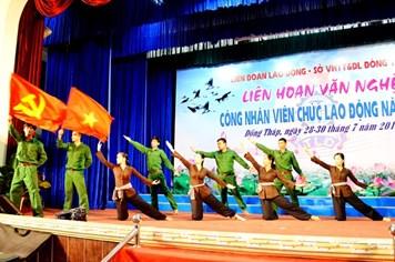 """Hào hứng với """"Liên hoan Văn nghệ CNVCLĐ tỉnh Đồng Tháp năm 2015"""""""