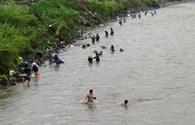 Quảng Ninh: Hàng trăm người đổ xuống sông Mông Dương mò than