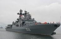 Tàu chống ngầm hiện đại của Hải quân Nga thăm hữu nghị Đà Nẵng