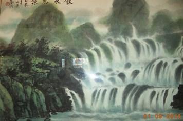 Xem tranh thủy mặc của họa sĩ người Hoa ở Sài Gòn