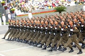 Chùm ảnh: Hùng tráng lễ diễu binh, diễu hành kỷ niệm Quốc khánh 2.9