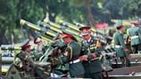 Chùm ảnh: Hoành tráng dàn đại pháo bắn tập lần cuối trước ngày Quốc khánh