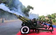 Đúng 7 giờ sáng nay lễ diễu binh, diễu hành mừng Quốc khánh bắt đầu