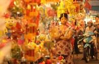 Thăm phố sáng... lồng đèn giữa Sài Gòn