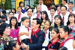 Chủ tịch nước chúc mừng ngành giáo dục nhân dịp khai giảng năm học mới
