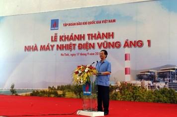 Thủ tướng Nguyễn Tấn Dũng cắt băng khánh thành Nhà máy nhiệt điện Vũng Áng 1