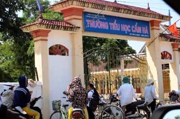 Hà Tĩnh: Yêu cầu Trường Tiểu học Cẩm Hà trả lại nhiều khoản thu sai