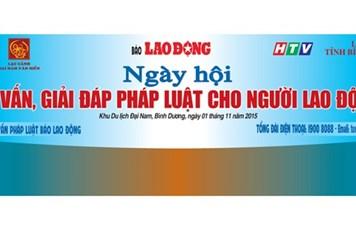 Sáng nay, báo Lao Động tổ chức Ngày hội tư vấn, giải đáp pháp luật cho người lao động
