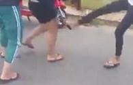 """Đà Nẵng: Ít nhất 5 đối tượng trong vụ thiếu nữ, nữ sinh dùng tuýt sắt """"xử"""" nhau bị triệu tập"""