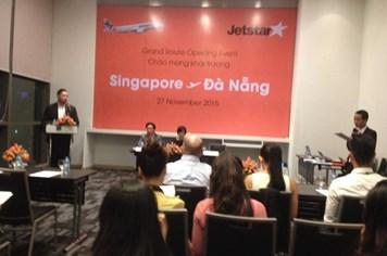 Mở đường bay trực tiếp Singapore –Đà Nẵng