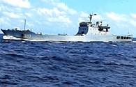 Tàu tiếp tế Việt Nam bị tàu Trung Quốc ngăn cản
