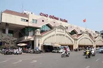 Hà Nôi: Mức thu phí chợ Đồng Xuân tối đa 750.000đ/m2/tháng