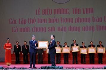 13 tỉnh thành phố Trung ương được tặng Huân chương lao động hạng Nhất