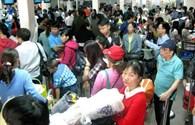 """Sợ """"tắc sân bay"""" dịp Tết, Vietnam Airlines khuyến khích check in trực tuyến"""