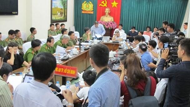 Các cơ quan báo chí quan tâm vụ án ông Tấn quán phở ở TPHCM.