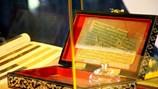 Tam tạng kinh Phật viết trên lá bối cách đây 2.000 năm đến Việt Nam
