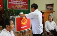 Hà Tĩnh: Ngư dân dậy sớm đi bầu cử