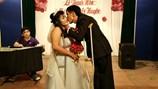 Cảm động đám cưới tuyệt đẹp của nữ vận động viên khuyết tật