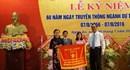 Cục Dự trữ Nhà nước khu vực Nghệ Tĩnh nhận cờ thi đua của Bộ Tài chính