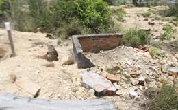 Chùm ảnh hiện trường 147 ngôi mộ bị đào trộm ở Khánh Hòa