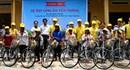 Tặng xe đạp cho 61 học sinh đồng bào Raglai vượt khó đi học