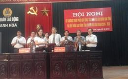 LĐLĐ Thanh Hóa: Ký kết chương trình phối hợp với TAND tỉnh Thanh Hóa
