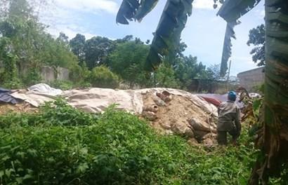 Vụ chôn chất thải tại Đà Nẵng: Doanh nghiệp làm sai quy trình