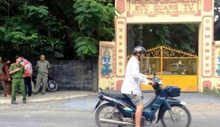 Làm rõ động cơ vụ tấn công bằng dao ở chùa khiến 4 người thương vong - ảnh 1