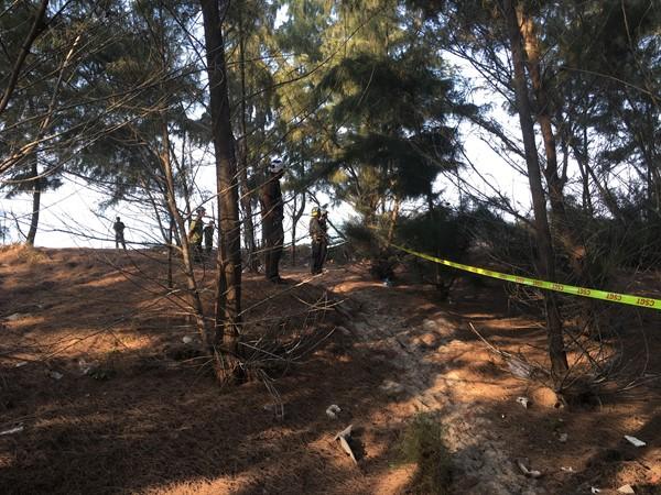 TX La Gi - Phát hiện một thi thể trong rừng dương