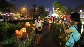 Đặc sắc khu vườn bí ngô Halloween thần tiên