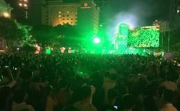 TP.HCM tưng bừng lễ hội đếm ngược chào đón năm mới 2017