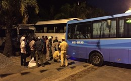 Bình Thuận: Phụ xe thiệt mạng khi đang lau xe trong bãi đỗ