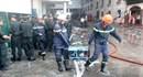 Vụ cháy Cty Kwong Lung – Meko: Tháo dỡ các hạng mục để tiếp cận hiện trường