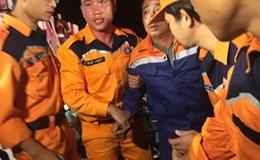 Vụ chìm tàu Hải Thành 26 trên biển Vũng Tàu: 2/11 thuyền viên gặp nạn đã được đưa vào bờ