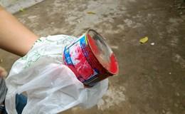 """Cộng tác viên một tờ báo bị khủng bố bằng """"bom"""" sơn lần thứ 2"""