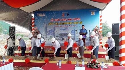 Saigon Co.op khởi công xây dựng siêu thị Co.opmart tại thị trấn Chư Sê, Gia Lai - ảnh 1