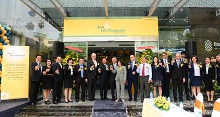 Khai trương Trung tâm Kinh doanh và Dịch vụ khách hàng Sun Life - Sài Gòn - ảnh 1