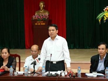 Cam kết của Chủ tịch Nguyễn Đức Chung