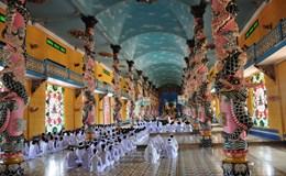 Chiêm ngưỡng kiến trúc độc đáo của Tòa thánh Tây Ninh