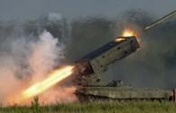 Sức mạnh phun lửa đầy uy lực của TOS-1A
