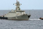 Tàu chiến Nga tại biển Caspi phóng tên lửa tấn công IS tại Syria