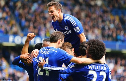 Chelsea chính thức vô địch Premier League 2014-2015